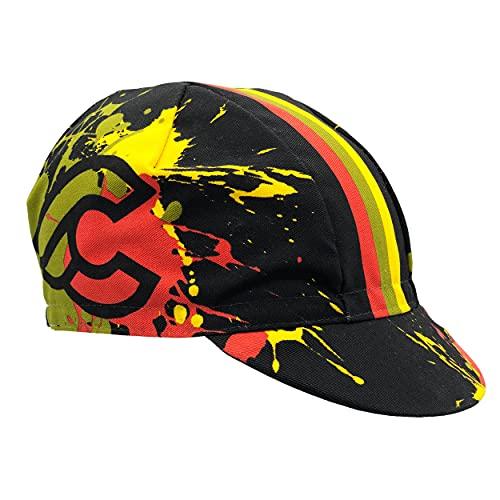 Cinelli Splash Cappellino da Uomo, Multicolore, Taglia Unica