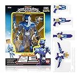 MINI FORCE Miniforce Bolt Robot Action Figure, Blue