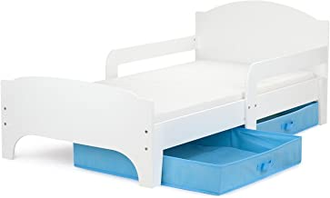 Amazon Fr Rangement Lit Blanc Ikea