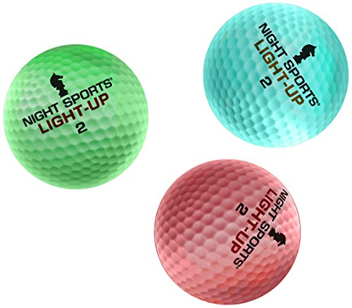 Buy Discount Night Sports Light-Up Golf Balls (3-Pack)
