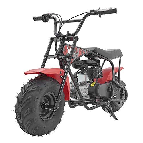 XtremepowerUS Pro 80CC 4-Stroke Kids Dirt Off Road Mini Dirt Bike, Kid Gas Powered Dirt Bike Off Road Dirt Bikes Gas Powered Trail Mini Bike