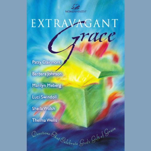 Extravagant Grace                   By:                                                                                                                                 Barbara Johnson,                                                                                        Marilyn Meberg,                                                                                        Patsy Clairmont,                   and others                          Narrated by:                                                                                                                                 Patsy Clairmont,                                                                                        others,                                                                                        Barbara Johnson                      Length: 2 hrs and 3 mins     12 ratings     Overall 4.7