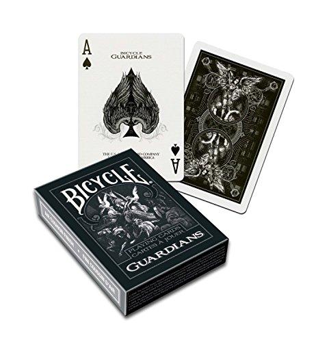 Bicycle 10015609 1020181 Guardians Spielkarten zum Sammeln, schwarz, poker
