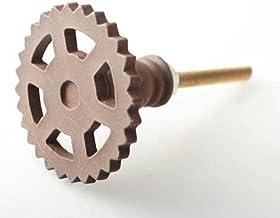 1 stuk metalen kast Pull Gear deurklink voor wijnkast Amerikaanse stijl kast deurknop 37mm-transparant