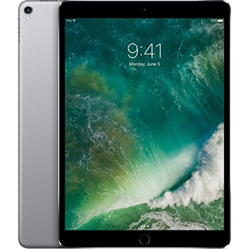 Apple iPad Pro 10.5in with ( Wi-Fi + Cellular ) - 256GB, Space Gray (Renewed)