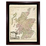 Kitchin 1778 Map Scotland Counties North Britain Art Print