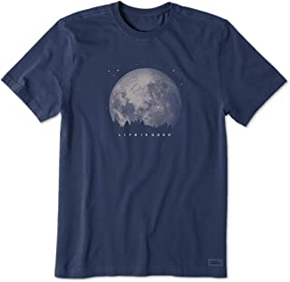 LIFE IS GOOD Men's Standard Crusher Graphic T-Shirt