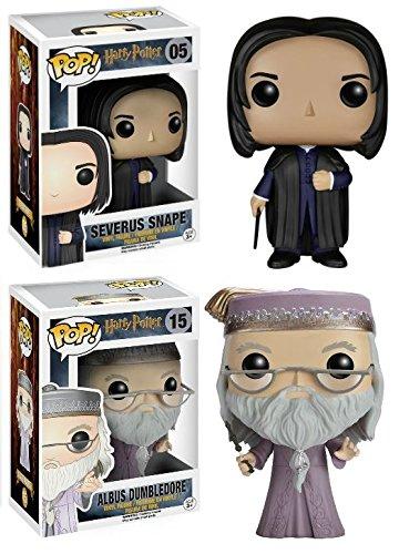 Funko Pop! Harry Potter: Severus Snape + Albus Dumbledore - Vinyl Set New