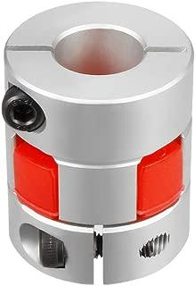 uxcell 10mm to 14mm Shaft Plum Shaped Coupling Coupler 30mm Diameter 35mm Length