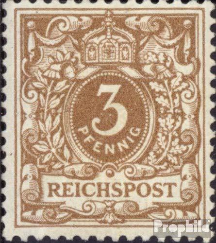 Prophila Collection alemán Imperio 45cb examinado 1889 dígitos/águila Imperial (Sellos para los coleccionistas)