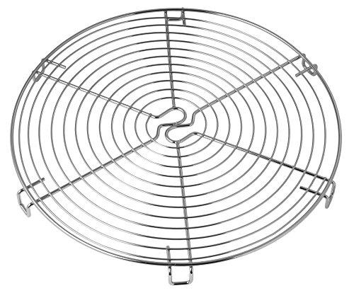 Dr. Oetker Torten-/Kuchenrost 32 cm Metall, Kuchengitter, zum Auskühlen, runder...
