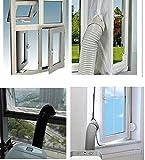 Airlock pour La Fenêtre, 3m/4m Pour et Déshumidificateurs Kit de Calfeutrage pour...