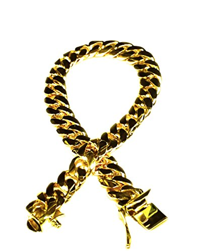 14k Solid Yellow Gold Miami Cuban Curb Link 11