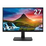 Acer モニター ディスプレイ AlphaLine 23.8インチ ET241Ybmi フルHD IPS フレームレス HDMI D-Sub ブルーライト軽減 VESA対応