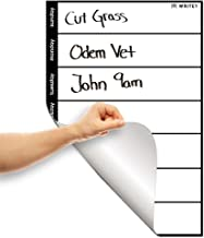 Weekly Calendar Whiteboard Sticker, 1x1.5 ft for Offices, Kids, Schools, College by WriteyBoard