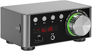 مكبر صوت صغير الحجم من هوني تيكس متعدد الوظائف BT الرقمي ومكبر الصوت ومكبر الصوت للصوت المحمول للسيارة والمنزل
