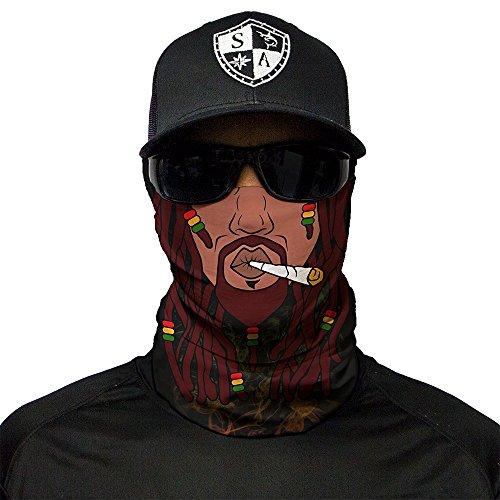 Bandala SA Company SA Fishing Face Shields de calidad, pañuelo multifunción textil con SPF 40, máscara protectora, Rasta Face