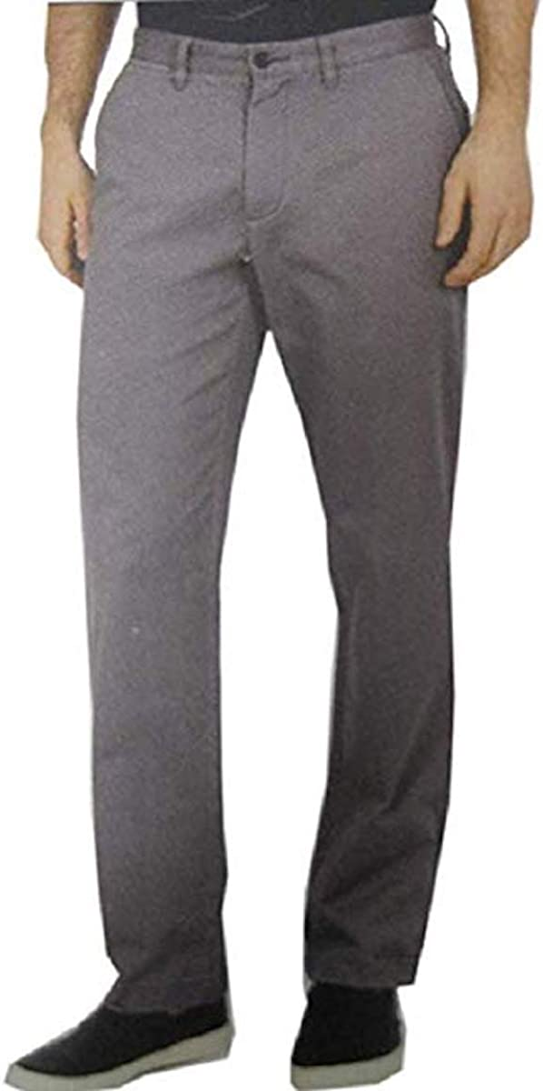 Nautica Mens Stretch excellence Soft Classic Fit Twill Outstanding Pants