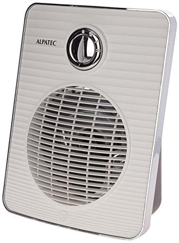 Taurus S2000 - Radiateur soufflant 2000W, 2 positions de chauffage, Sécurité anti-surchauffe, Surface jusqu'à 20m2, pour salle de bain, Range cable, Blanc