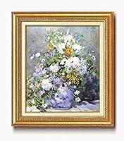 ルノワール名画額F10号 「花瓶の花」 17563
