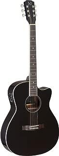 James Neligan 6 String BES-ACE BK Bessie Series Auditorium Cutaway Acoustic-Electric Guitar-Black