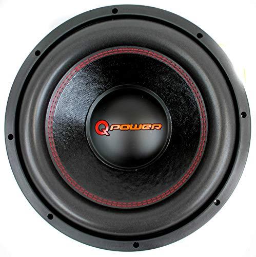 Q Power 15 Zoll 4000 Watt Super Deluxe Subwoofer DVC Car Audio Sub | QP15-Super