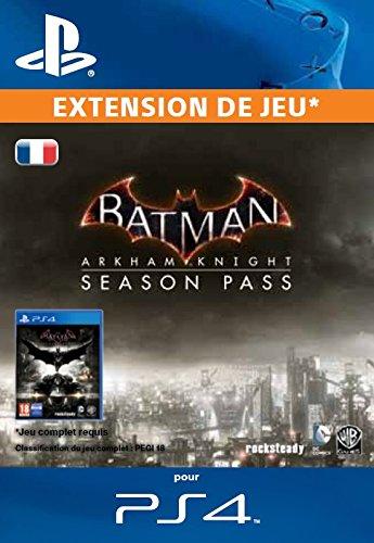 Batman Arkham Knight Season Pass [Code Jeu PSN PS4 - Compte français]