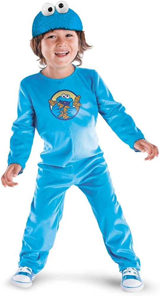 Sesame Oakland Mall Street - Cookie Monster Child Size Direct sale of manufacturer Classic Costume 3T-4T