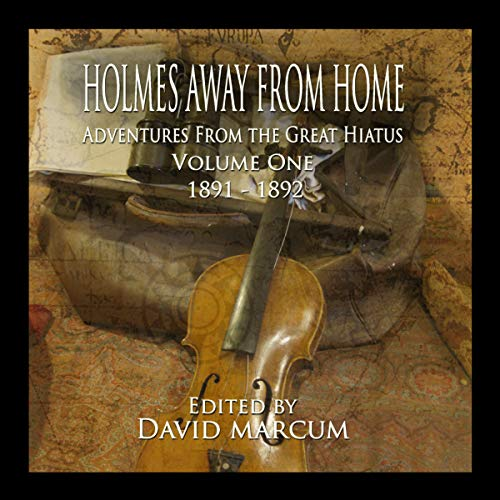 Holmes Away from Home audiobook cover art