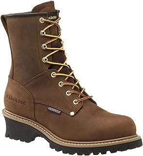 Men's Brown CA8821 Steel Shank Waterproof 8