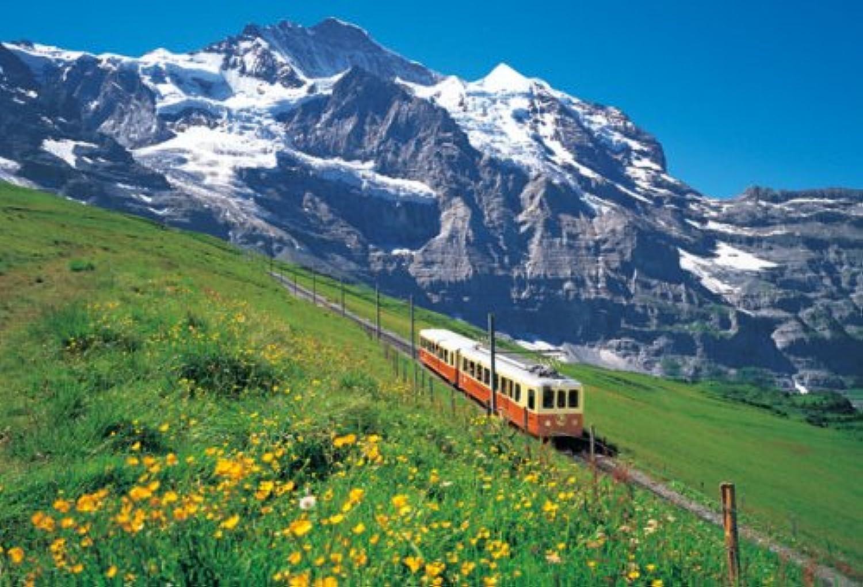 La Jungfrau 71-344 1000 Un morceau magnifique (japon d'importation)