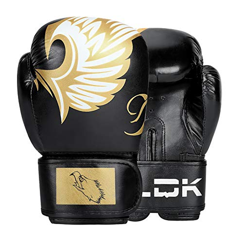 LINGSFIRE Junior Boxing Gloves Kids Boxing Gloves 6 oz Boxing Gloves Sparring, Training Bag Mitt Gloves for Punching, Sparring, Workout, Training