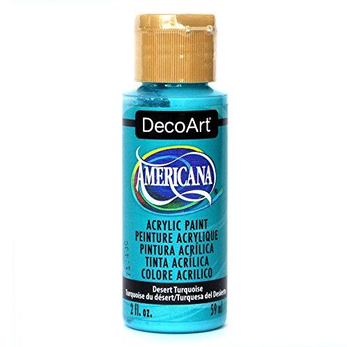 Deco Art Americana-Vernice acrilica Multiuso, Colore: Turchese