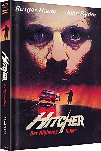 Hitcher - Der Highway Killer - Uncut - Mediabook  (+ DVD) [Blu-ray]