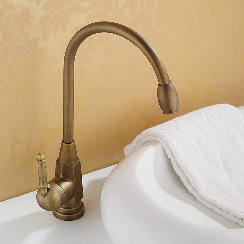 Exclusive Faucet Kitchen Retro Bronze Tap Kitchen Style ...
