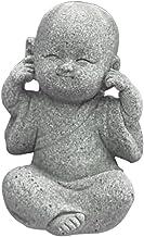 Flameer Buddha Statue Decoration Small Baby Monk Statute Home Decor Mini Sculpture Little Monk Figurine Ornaments Kung Fu ...