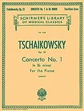 tchaikovsky piano concerto no 1 score