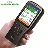Air Quality Monitor IGERESS Multifunctional Indoor Pollution Detector Meter for...