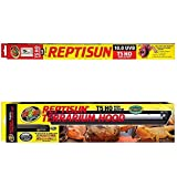 Reptisun 26053 T5 HO Terrarium Hood, 24' + (1 Bulb...
