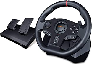 PXN V900 PC Racing Wheel, Universal Usb Car Sim 270/900 degree Race Steering Wheel with Pedals for PS3, PS4, Xbox, One, Ni...