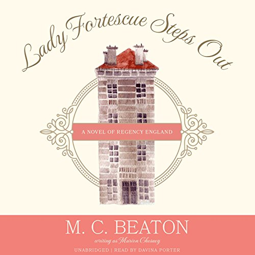 Lady Fortescue Steps Out audiobook cover art