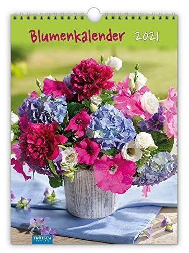 "Classickalender ""Blumenkalender"" 2021: 24 x 33 cm"