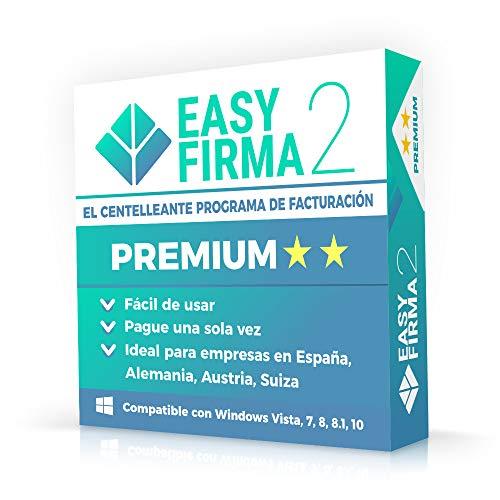 EasyFirma 2 Premium - ES - Almacén, acusos de pago, recibos, confirmación...
