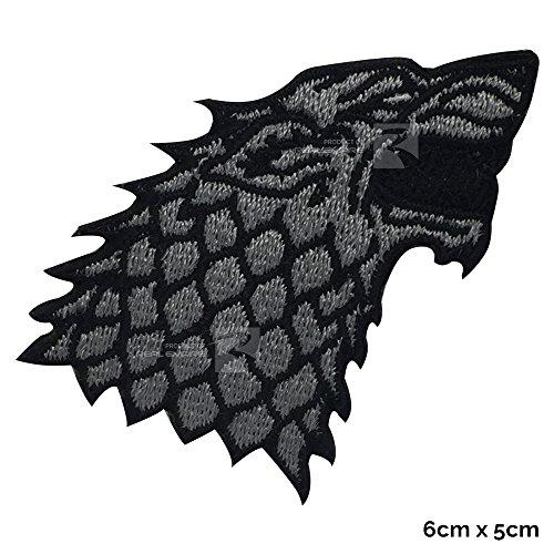 Parche bordado coser planchar Game of Thrones House