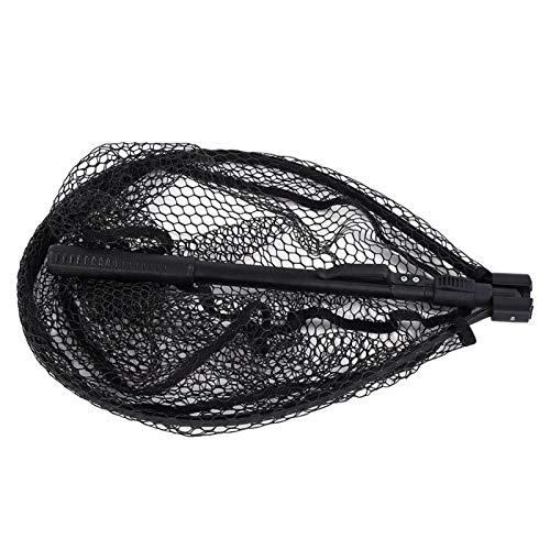DAUERHAFT Aluminiumlegierung Maximale Haltbarkeit Tragbares Fliegenfischen Dip Net Compact, zum Angeln