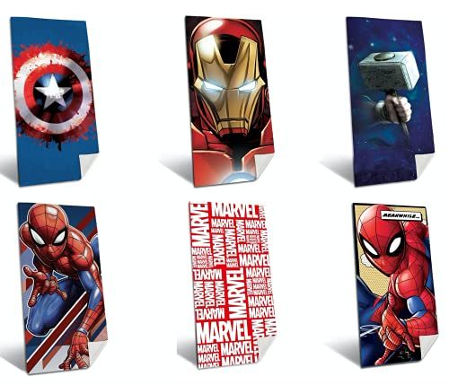 TIENDA EURASIA® Toallas de Playa 100% Algodón - Diseños Avengers - 300 Gr - 75 x 140 cm (Spiderman 2)