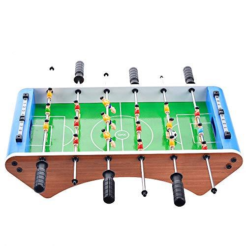 CBA BING Startseite Tischkickertisch Fussball Spiel Portable Mini mit Zwei Kugeln und Score Keeper für Erwachsene und Kinder