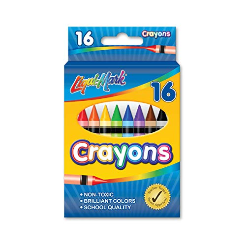 16pk Crayons - Assorted Colors
