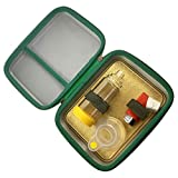 Large Insulated Hard-CASE for INHALERS and SPACERS for Kids and Adults.