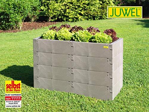 JUWEL Timber 130x60x80 cm 4er Set Hochbeet, Keine Angabe